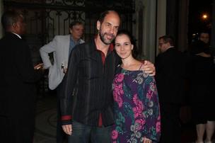 Roberto Bomtempo e Miriam Freeland (Foto: Roberto Filho / AgNews)