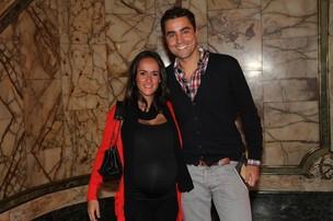 Ricardo Pereira e a mulher, Francisca Pinto (Foto: Roberto Filho / AgNews)