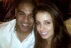 Adriano e Luana (Foto: Reprodução/Twitter)
