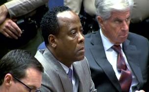 Conrad Murray ouve o veredito (Foto: Agência/Reuters)