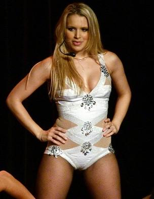 Francine Porto, cover de Britney Spears (Foto: Arquivo pessoal)