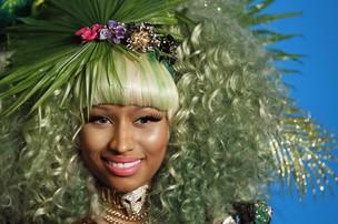 Nicki Minaj em evento de moda em nova York, nos Estados Unidos (Foto: Reuters/ Agência)