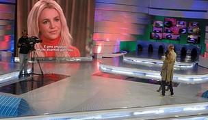 Xuxa entrevista Britney Spears (Foto: Reprodução / Internet)