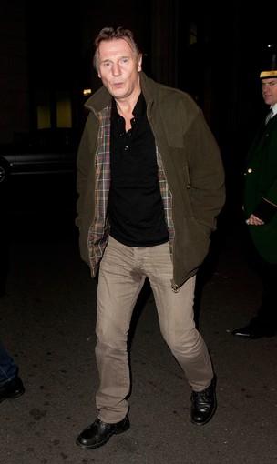 Liam Neeson em Londres (Foto: Getty Images)