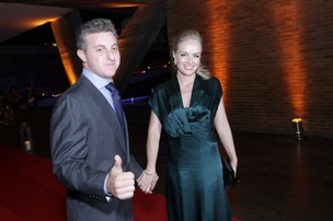 Angélica e Luciano Huck (Foto: André Muzell/Ag News)