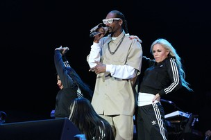 Snoop Dogg se apresenta no palco Energia do Festival SWU 2011 (Foto: Manuela Scarpa / Photo Rio News)