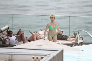 Britney Spears (Foto: Delson Silva e Gabriel Reis/AgNews)