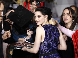 Kristen Stewart  na première de 'Amanhecer' em Los Angeles, nos Estados Unidos (Foto: Reuters/ Agência)