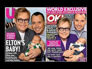 Elton John e David Furnish (Foto: Reprodução)
