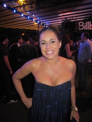 Daniela Mercury na festa da revista 'Billboard' em São Paulo (Foto: Felipe Abílio/ EGO)