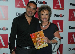 Ana MAria Braga e Marcelo Frissoni (Foto: Francisco Cepeda/ Ag.News)
