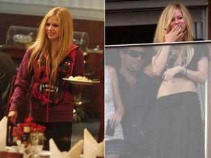 Avril Lavigne no Rio (Foto: Delson Silva e André Freitas/AgNews)