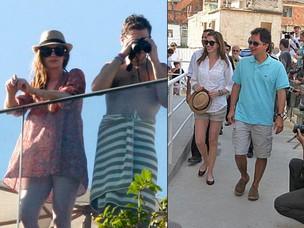 Anne Hathaway no Rio  (Foto: Edson Teofilo/Photorio News e Philippe Lima/AgNews)