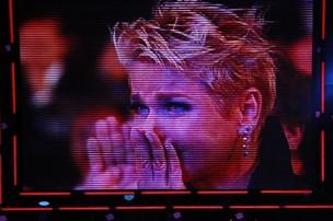 Xuxa no Prêmio Extra (Foto: Isac Luz / EGO)