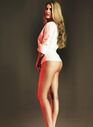 """Bárbara Evans na """"Playboy"""" (Foto: Divulgação)"""