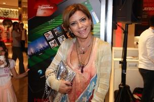 Astrid Fontanelle vai a evento em São Paulo (Foto: Manuela Scarpa / Photo Rio News)