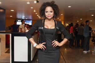 Adriana Bombom no show do Exaltasamba no Rio (Foto: Raphael Mesquita/ Photo Rio News)