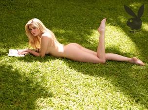 Barbara Evans na Playboy (Foto: Bob Wolfenson/Revista Playboy)