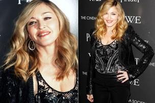 Madonna lança o filme 'W.E.' em Nova York, nos Estados Unidos (Foto: Reuters/ Agência)