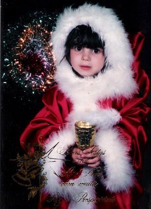 Sthefany Britto (especial Natal) (Foto: Album de família)