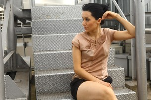 Patricia Marx posa para o EGO (Foto: Iwi Onodera/EGO)