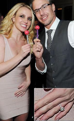 Britney Spears e Jason Trawick  (Foto: Getty Image)