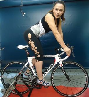Núbia Óliiver vai aproveitar as férias para lançar o seu projeto de fitness em um blog (Foto: Divulgação/ Divulgação)