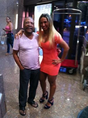 Valesca Popozuda e Martinho da Vila (Foto: Divulgação)