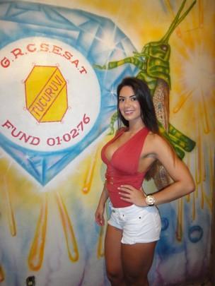 Graciella Carvalho, vice-campeã do Miss Bumbum, no Tucuruvi (Foto: Divulgação/ Cacau Oliver)