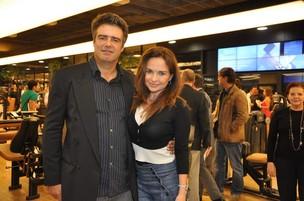 Luiza Tomé e o empresário Adriano Facchini (foto de arquivo) (Foto: Tiago Archanjo/ Ag. News)
