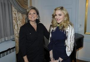 Madonna em entrevista com Cynthia McFadden (Foto: Agência/Reuters)