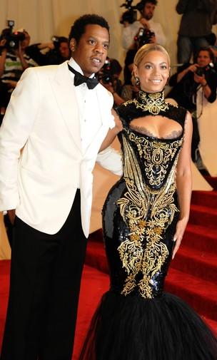 Beyoncé e Jay-Z (foto de arquivo maio de 2011) (Foto: Getty Images)