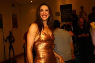 Claudia Raia na pré-estreia de 'Hair' (Foto: Iwi Onodera / EGO)