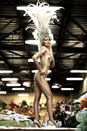 Antonia Fontenelle em ensaio de carnaval para o EGO (Foto: Marcos Serra Lima / EGO)