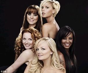 Spice Girls (foto de arquivo) (Foto: Divulgação)