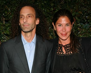 "Kenny G e Balynda ""Lydie"" Banson (Foto: Getty Images)"
