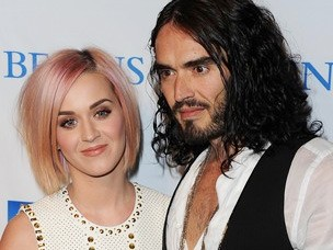 Katy Perry e Russell Brand 304 (Foto: Agência Getty Images)