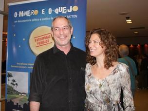 Patricia Pillar e Ciro Gomes (Foto: Henrique Oliveira/Photorio News)