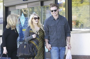 Jessica Simpson e Eric Johnson (Foto: Honopix)