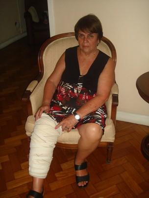 Helena Maria Maciel- uma das vítimas do acidente no teatro Oi CasaGrande (Foto: Divulgação)
