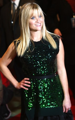 Reese Witherspoon na première do filme 'This Means War' em Londres, na Inglaterra (Foto: AFP/ Agência)