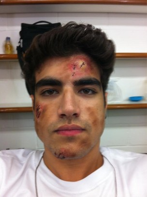 Caio Castro como Antenor (Foto: Reprodução/Twitter)