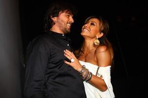 Sabrina Sato com o namorado Fábio Faria em seu aniversário em São Paulo (Foto: Iwi Onodera/ EGO)