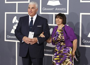 Mitch e Janis Winehouse, pais de Amy Winehouse (Foto: Reuters)