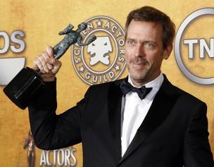 O ator Hugh Laurie, protagonista da série 'House' (Foto: Reuters)