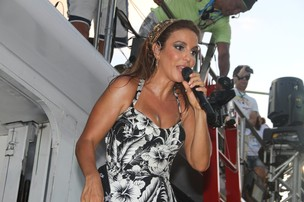 Ivete Sangalo (Foto: Dilson Silva e Gabriel Rangel/AgNews)