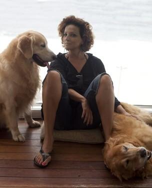 A atriz Betty Lago no programa 'Pirei', do GNT (Foto: Vicente di Paulo/Divulgação GNT)