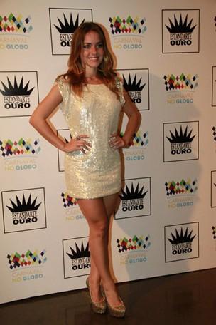 Monique Alfradique no Prêmio Estandarte de Ouro (Foto: Isac luz / EGO)