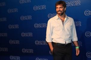 Marcelo Faria na coletiva que anuncia nova programação da Rede Globo (Foto: Iwi Onodera / EGO)