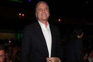 Roberto Justus na coletiva que anuncia nova programação da Rede Globo (Foto: Iwi Onodera / EGO)